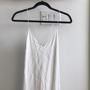 Aritzia - Wilfred Free white dress